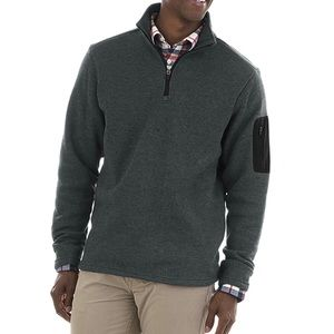🆕 CHARLES RIVER APPAREL Heathered Fleece Pullover